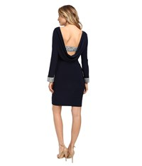 Rsvp Mina Short Dress Navy Women's Dress