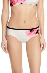 Women's Kate Spade New York 'Paloma Beach' Sequin Embellished Hipster Bikini Bottoms