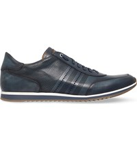 Magnanni Tristan Leather Trainers Blue