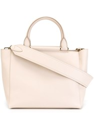Max Mara Round Handle Tote Bag Nude And Neutrals
