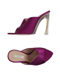 Nina Ricci Footwear Sandals Women Garnet