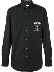 Moschino Double Question Mark Shirt Black