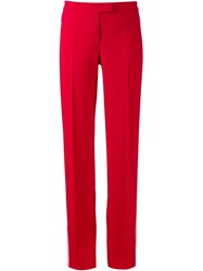 Michael Kors Side Stripe Trousers Red