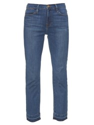 Frame Denim Le High Slim Straight Leg Jeans Indigo