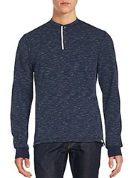 Sovereign Code Aleck Cuffed Henley Top Navy