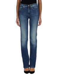 Jeans Les Copains Denim Denim Trousers Women Blue