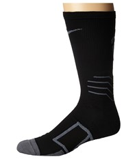 Nike Elite Baseball Crew Sock Black Flint Grey Flint Grey Crew Cut Socks Shoes