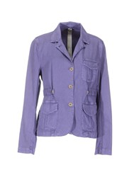 Swiss Chriss Suits And Jackets Blazers Women Purple
