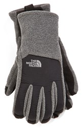 The North Face Men's 'Denali' E Tip Gloves Charcoal Heather Grey