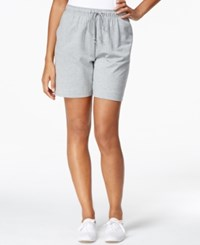 Karen Scott Drawstring Knit Shorts Only At Macy's