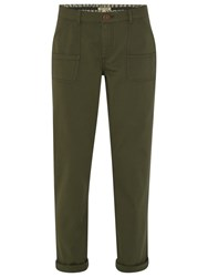 White Stuff Tilly Trousers Spinach Green