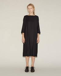 Casey Casey Wool Cashmere Dress Black