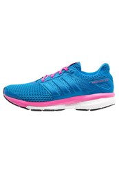 Adidas Performance Supernova Glide 8 Chill Cushioned Running Shoes Super Blue Shock Pink