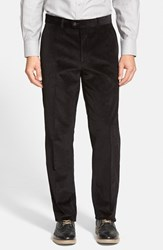 Men's Big And Tall Linea Naturale Weathered Corduroy Pants Black