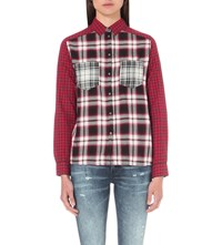 Diesel Eve Checked Cotton Shirt 0Same 900