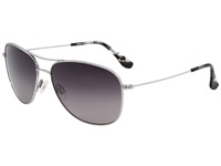 Maui Jim Cliff House Silver Neutral Grey Lens Sport Sunglasses