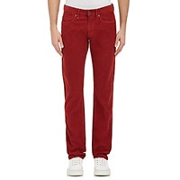 Incotex Men's Corduroy Jeans Red