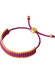 Links Of London Hot Pink Friendship Bracelet