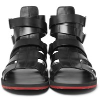Givenchy Leather Sandals Black