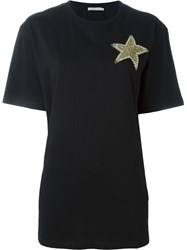 Amen Star Patch T Shirt Black
