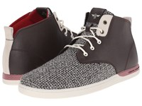 Creative Recreation Vito Vintage Brown Red Heather Men's Lace Up Casual Shoes