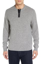 Nordstrom Men's Men's Shop Cashmere Henley Sweater