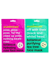Anatomicals Mask Your Horribleness Botanical Cloth Face Mask 50G