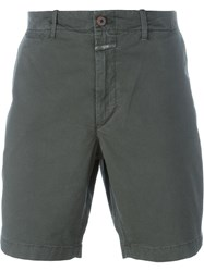 Closed Chino Shorts Green