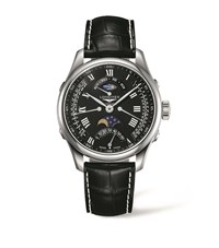 Longines Master Collection Moon Watch Unisex Black