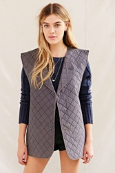 Urban Renewal Vintage Quilted Vest Grey