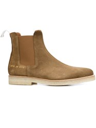 Common Projects Slim Chelsea Boots Brown