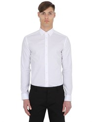 Eton Super Slim Cotton Poplin Shirt