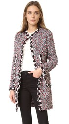 Giambattista Valli Tweed Coat Multi