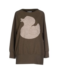 Duck Farm Sweatshirts Military Green