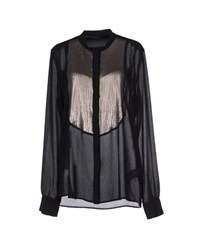 Pinko Black Shirts Shirts Women