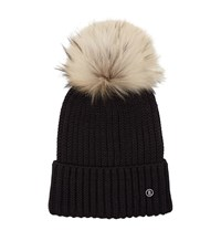 Bogner Removable Pom Pom Hat Female