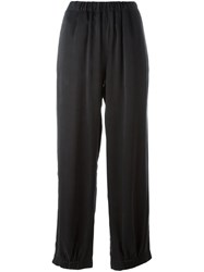 Maison Martin Margiela Mm6 Wide Jogger Pants Black