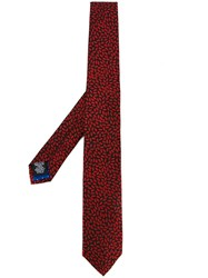 Paul Smith 'Lips' Tie Red