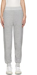 Hyke Grey French Terry Lounge Pants