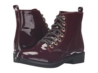 Chinese Laundry Stefan Wine Women's Lace Up Boots Burgundy