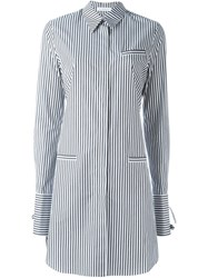 J.W.Anderson Tie Back Shirt Dress Black