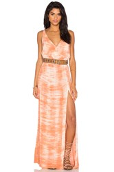 Blue Life High Tide Maxi Dress Coral