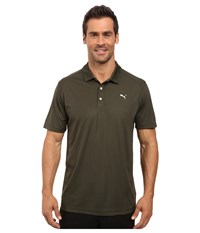 Puma Ess Pounce Polo Forest Night Men's Clothing Green