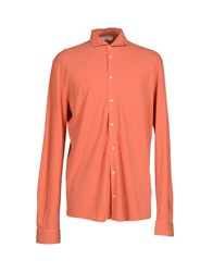 Gran Sasso Shirts Shirts Men Rust