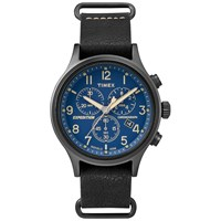 Timex Expedition Scout Chronograph Watch Black