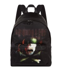Givenchy Army Skull Backpack Unisex Black