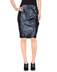 Sister Jane Skirts Knee Length Skirts Women Dark Blue