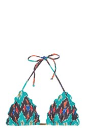 Vix Swimwear Rippled Bikini Top Multi