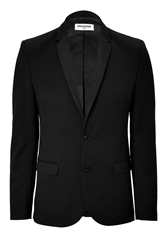 Zadig And Voltaire Wool Blend Tuxedo Styled Blazer