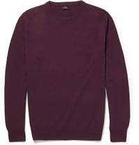 J.Crew Crew Neck Cashmere Sweater Red